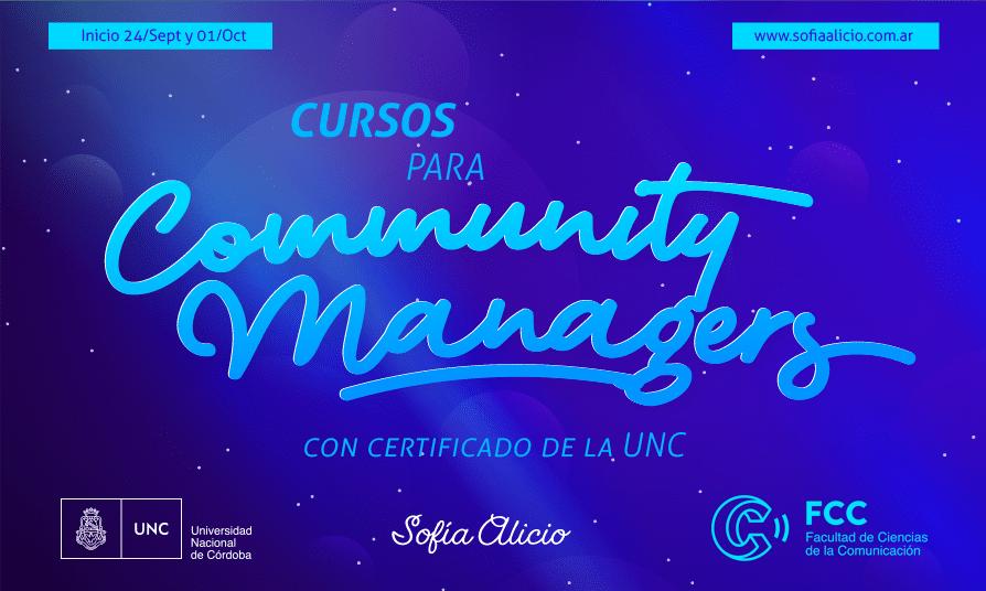 ¿Sos community manager? estos cursos te van a interesar